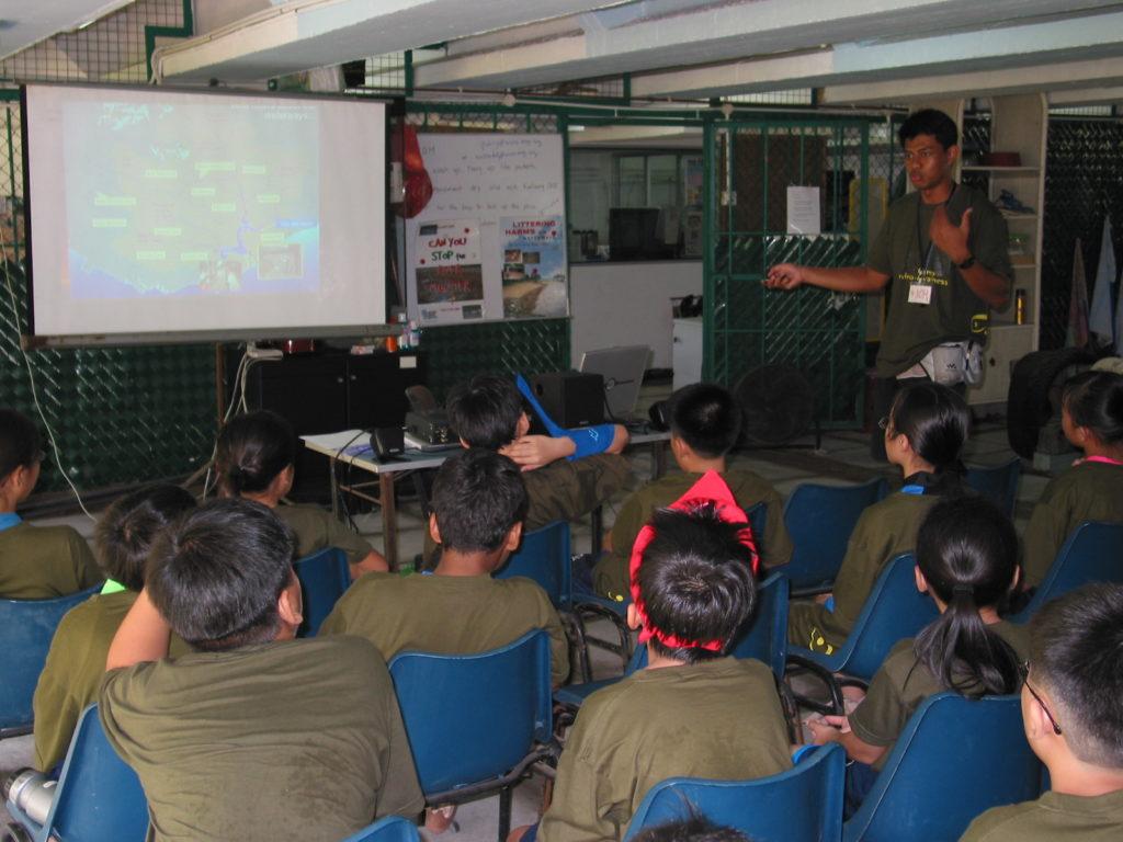Promoting environmental educational programmes