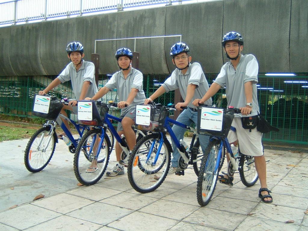 Clean-up Patrols on Bicycle