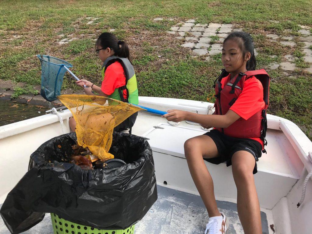 Boat Waterways Clean Up, VIA