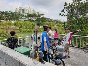Bike Waterway Clean Up, VIA