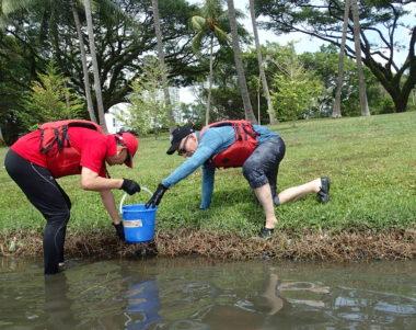 waterways clean up programme